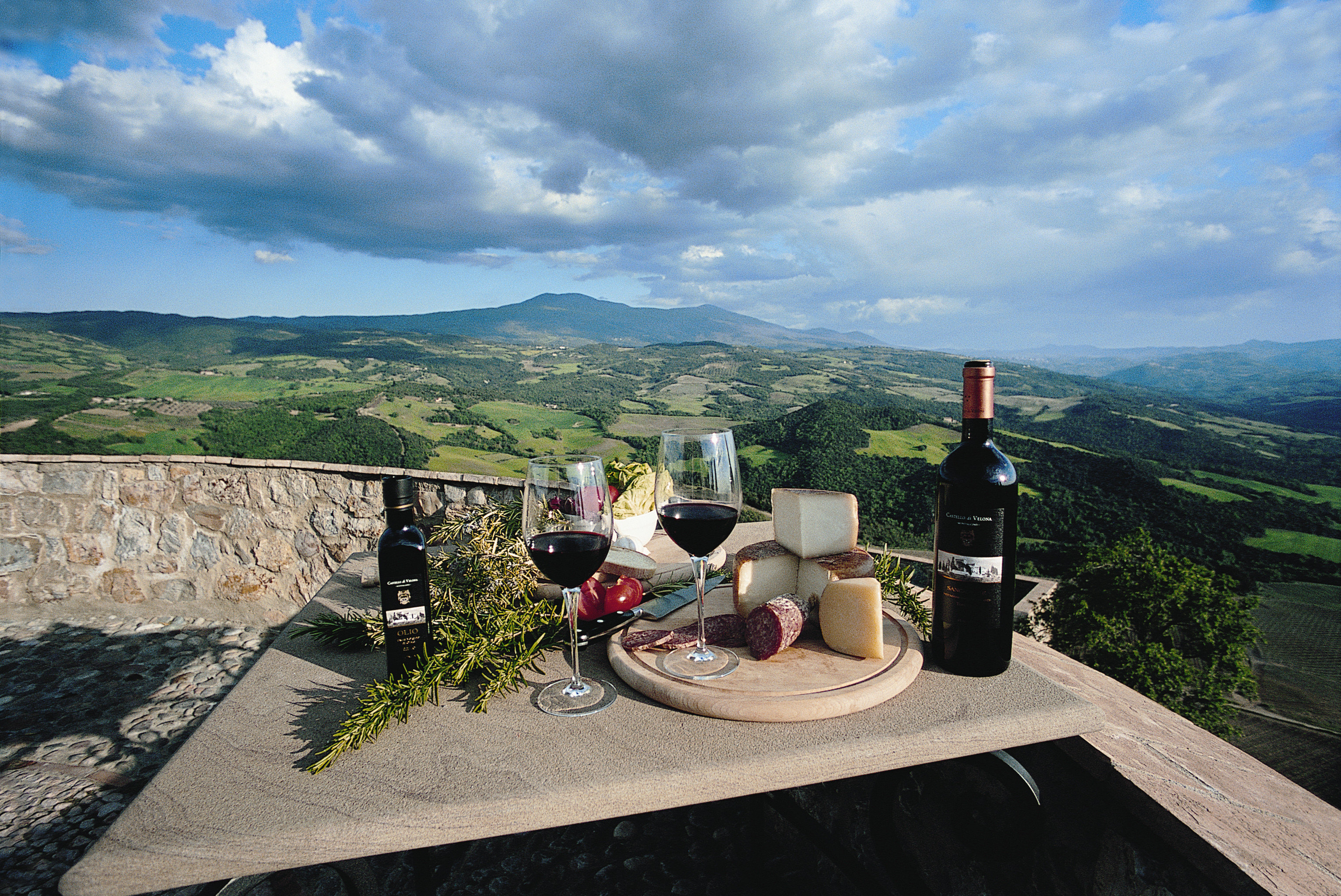 Country Drink Grounds Honeymoon Italy Luxury Romance Romantic Scenic views Trip Ideas sky mountain ground mountain range travel overlooking stone