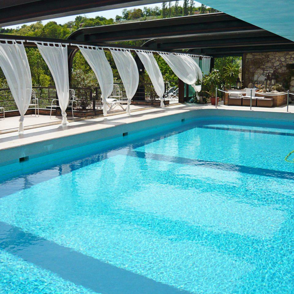 Country Elegant Pool Romance Romantic water swimming pool property swimming leisure building Resort Villa blue