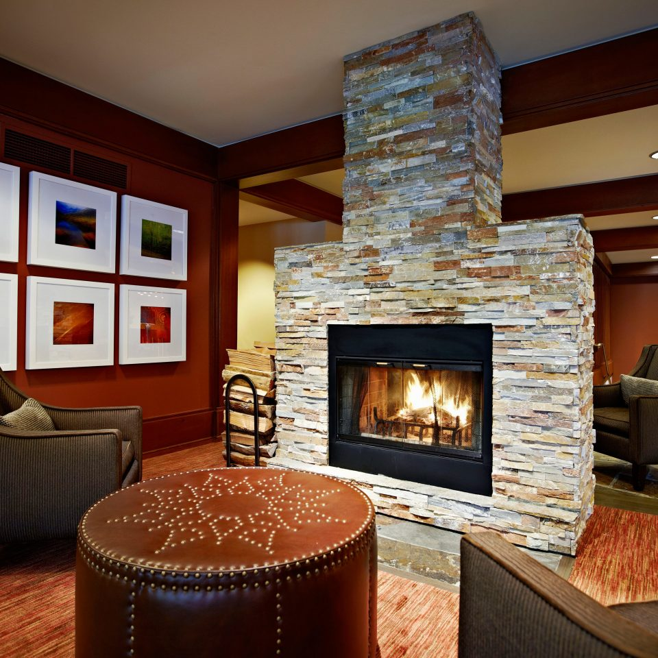 Country Fireplace Historic Lodge Lounge fire living room property home hearth cottage hardwood Suite stone