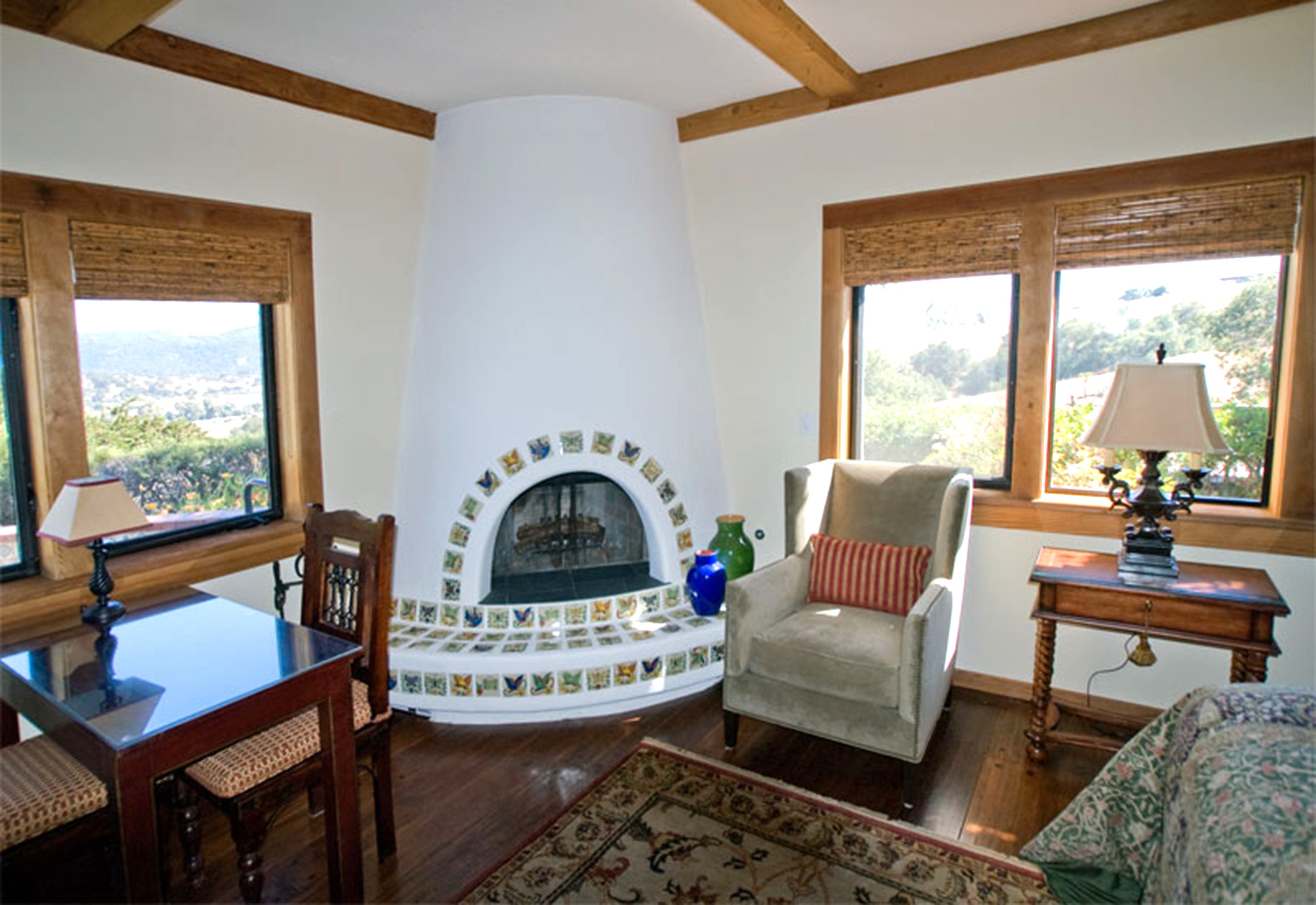Country Fireplace Lounge property living room home house Villa cottage mansion farmhouse Resort