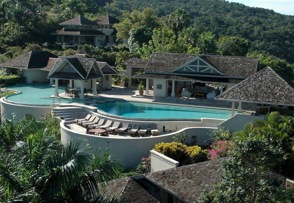 Country Luxury Pool Villa tree house swimming pool property building Resort Garden mansion backyard home Village