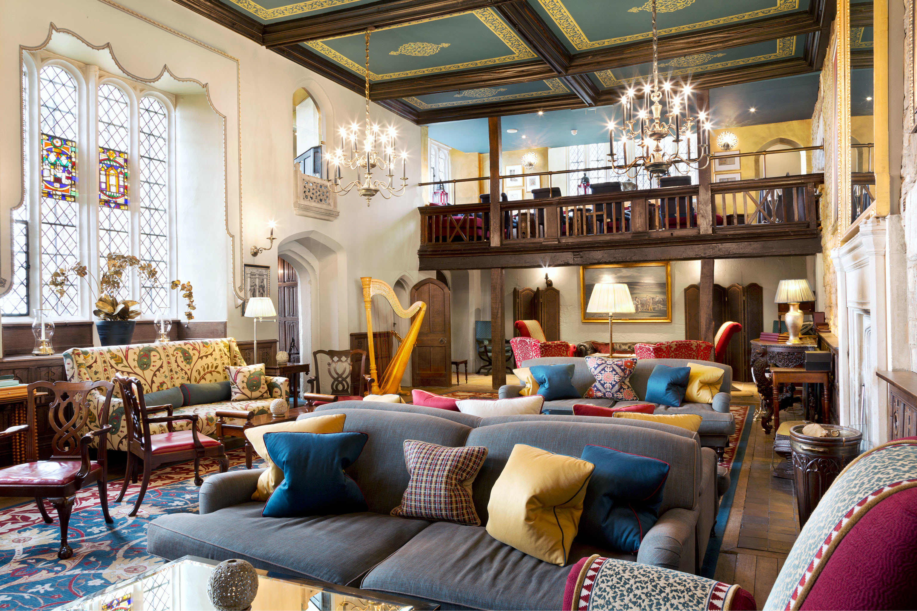 Country Hotels Lounge Luxury Resort living room property home cluttered