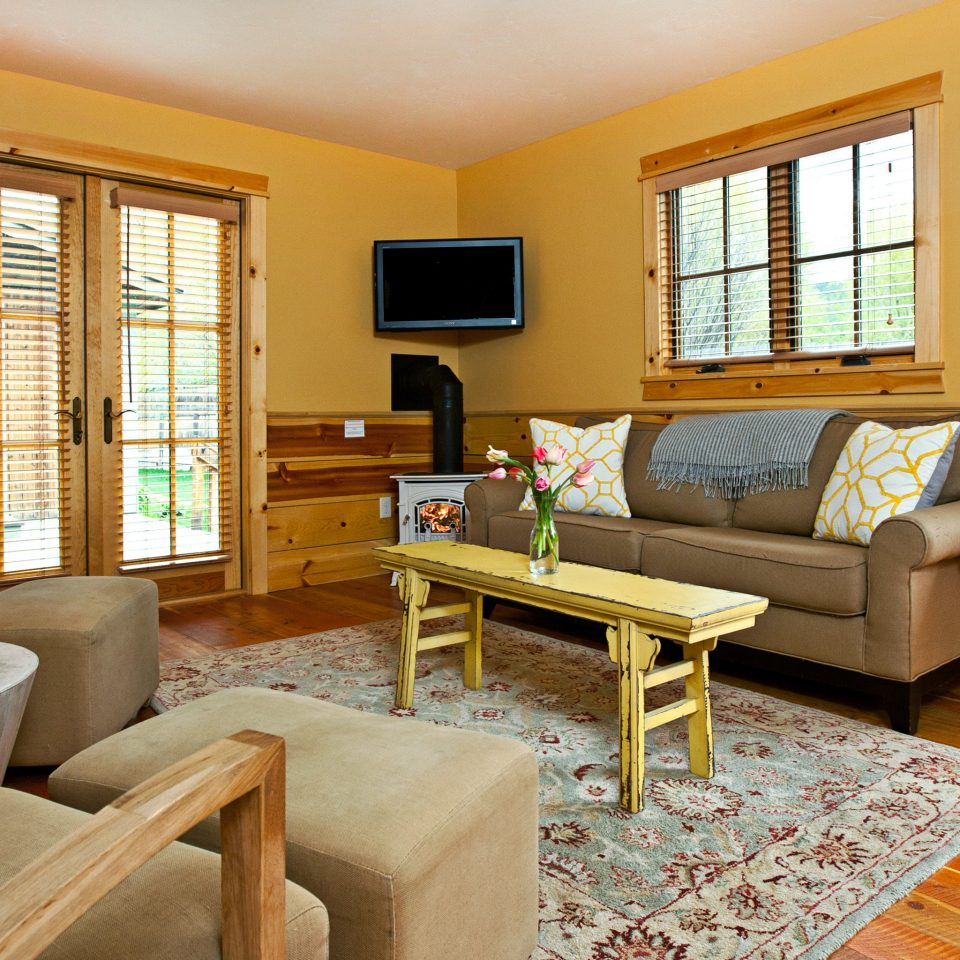 Country Lodge Lounge Rustic property living room home cottage hardwood condominium Suite Villa farmhouse
