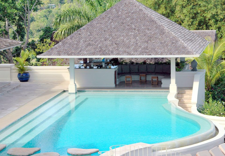 Country Luxury Pool Villa tree swimming pool property building leisure Resort backyard outdoor structure swimming