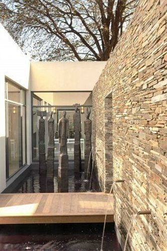 building property brick Courtyard stone
