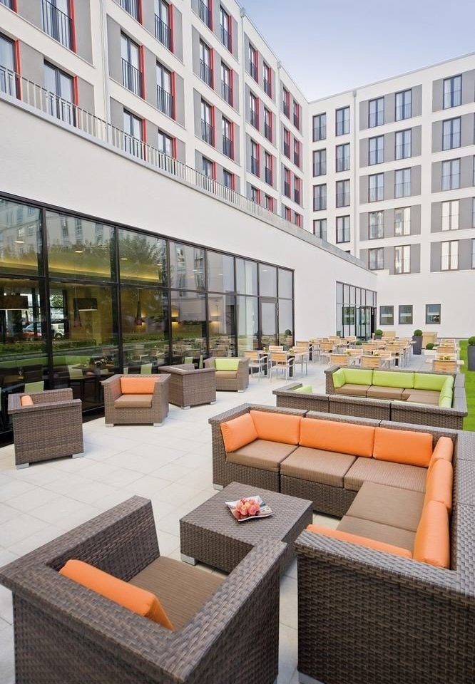 condominium property building plaza home outdoor structure Courtyard