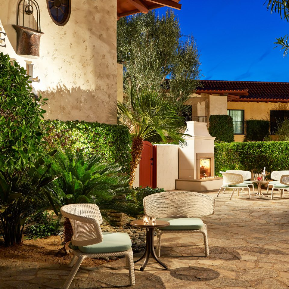 Cultural Exterior Grounds Resort tree ground property house Courtyard home Villa backyard hacienda yard cottage outdoor structure Patio farmhouse stone