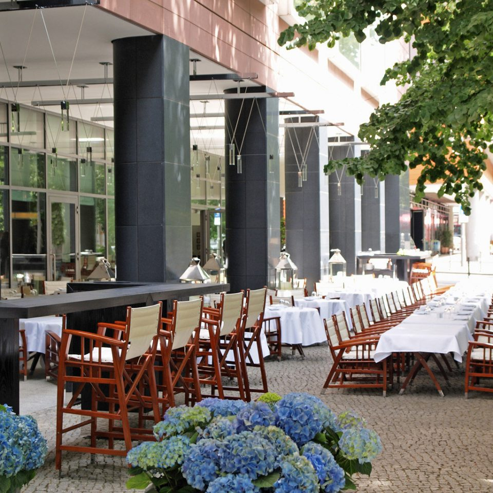 Dining Drink Eat building chair restaurant aisle backyard Courtyard