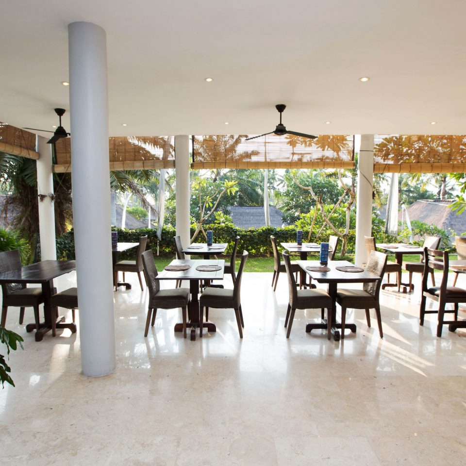 property building Resort condominium restaurant home Lobby Villa Courtyard Dining hacienda