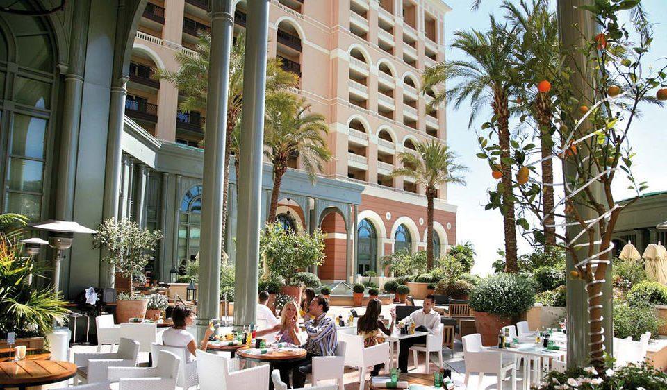neighbourhood plaza Resort condominium restaurant Dining Courtyard dining table