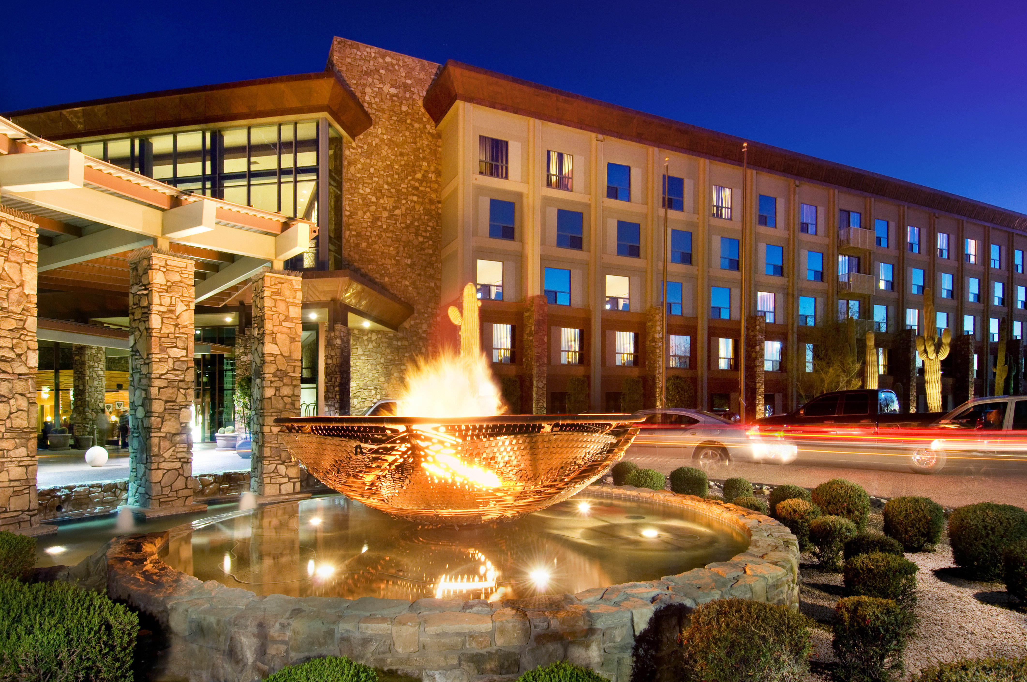 Exterior Firepit Resort sky plaza building landmark condominium water feature fountain palace Courtyard colonnade