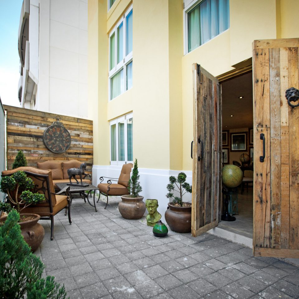 Exterior Hotels Lounge Patio Rustic property house home Courtyard cottage stone