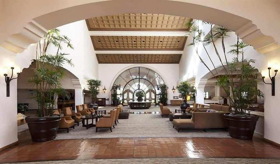 property Lobby Fireplace living room mansion Villa home hacienda arch Courtyard chapel stone