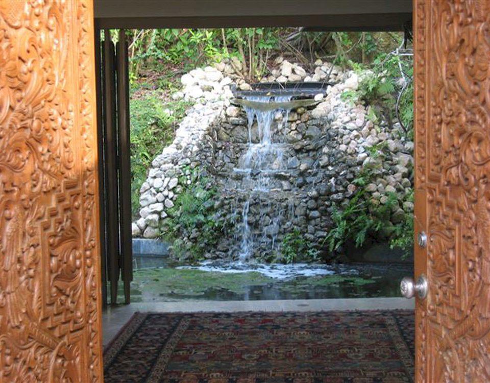 building porch door Garden Courtyard backyard yard outdoor structure flower cottage