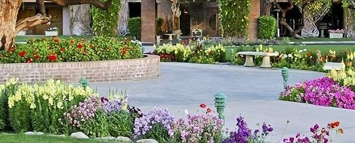 flower Garden lawn yard floristry backyard landscape architect Courtyard landscaping