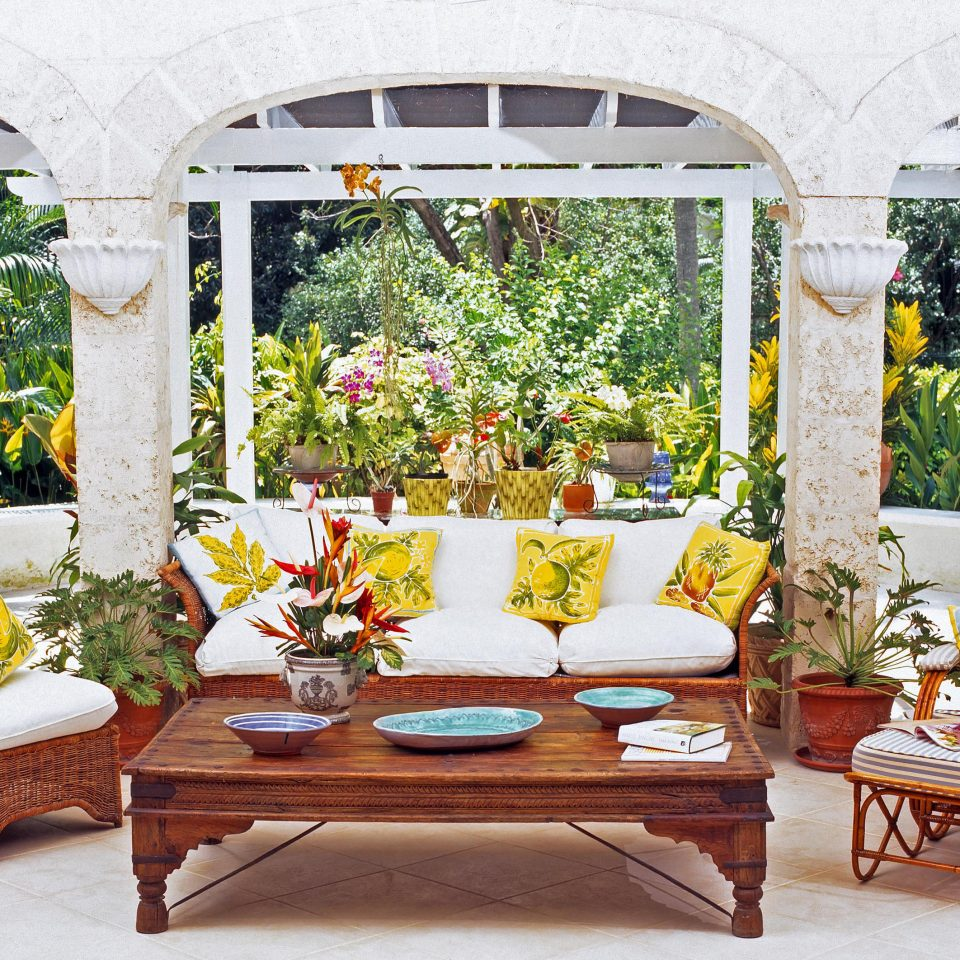 building porch floristry outdoor structure flower backyard Courtyard Patio Garden