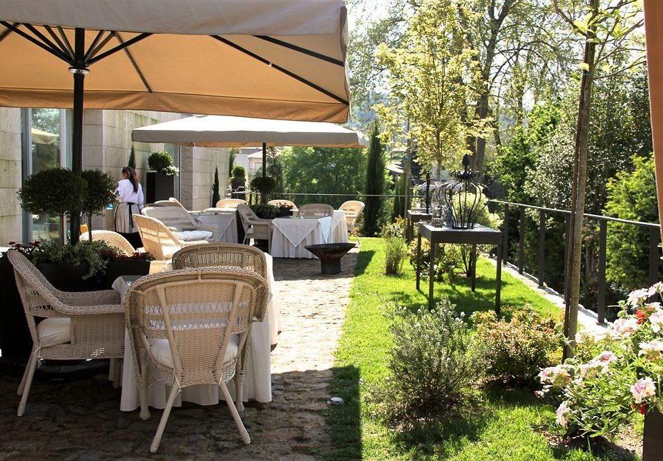 tree chair property backyard porch home cottage outdoor structure yard Garden flower Villa Courtyard Patio