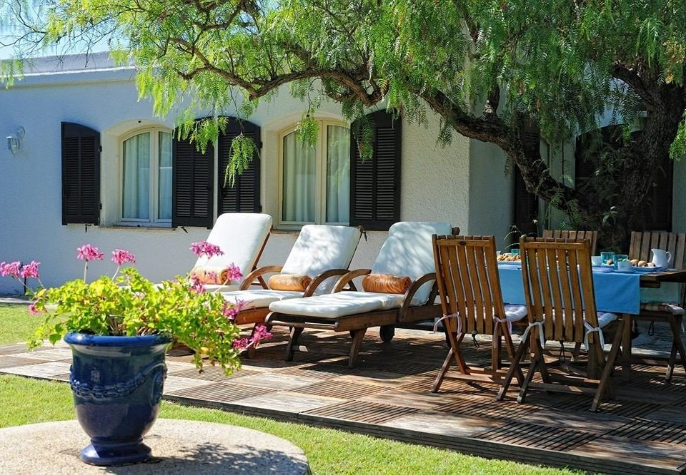 tree property backyard yard home Courtyard Villa cottage outdoor structure porch hacienda Garden lawn Patio