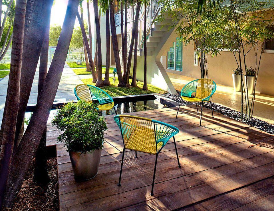 ground tree leisure house backyard home Courtyard Resort Garden yard swimming pool