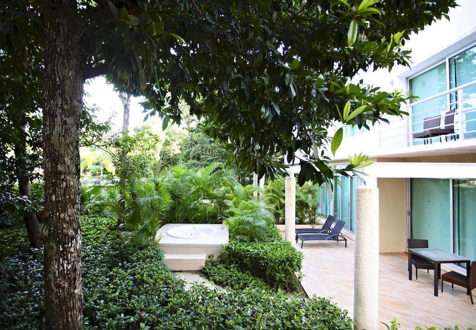 tree property house Resort home Courtyard backyard Villa yard Garden cottage condominium porch