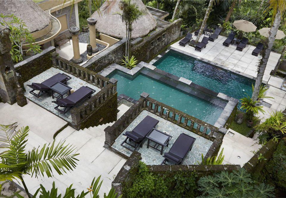 tree property condominium neighbourhood house residential area Resort home mansion swimming pool Villa Courtyard Village Garden cottage plant