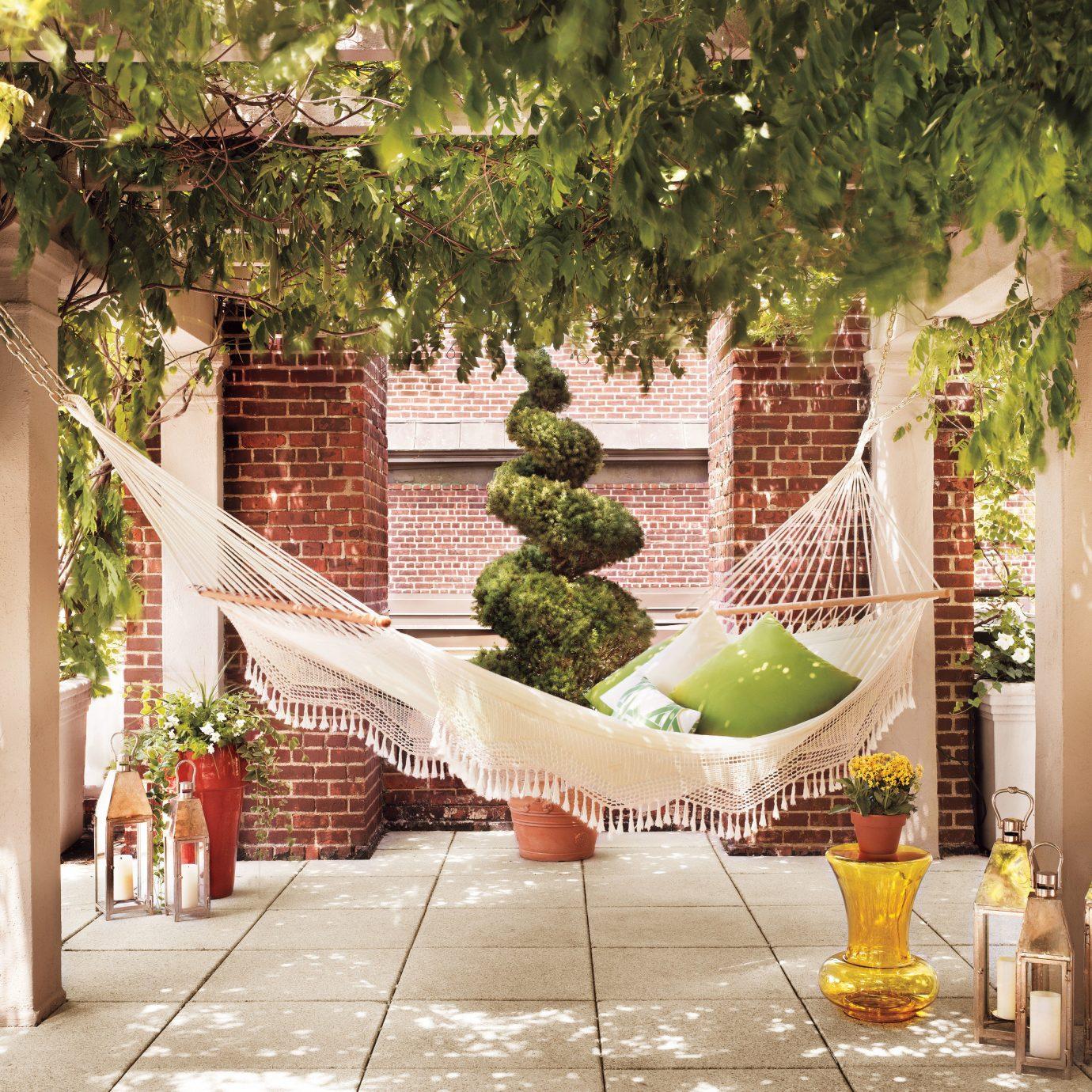 tree property Courtyard backyard home outdoor structure hacienda Garden Villa