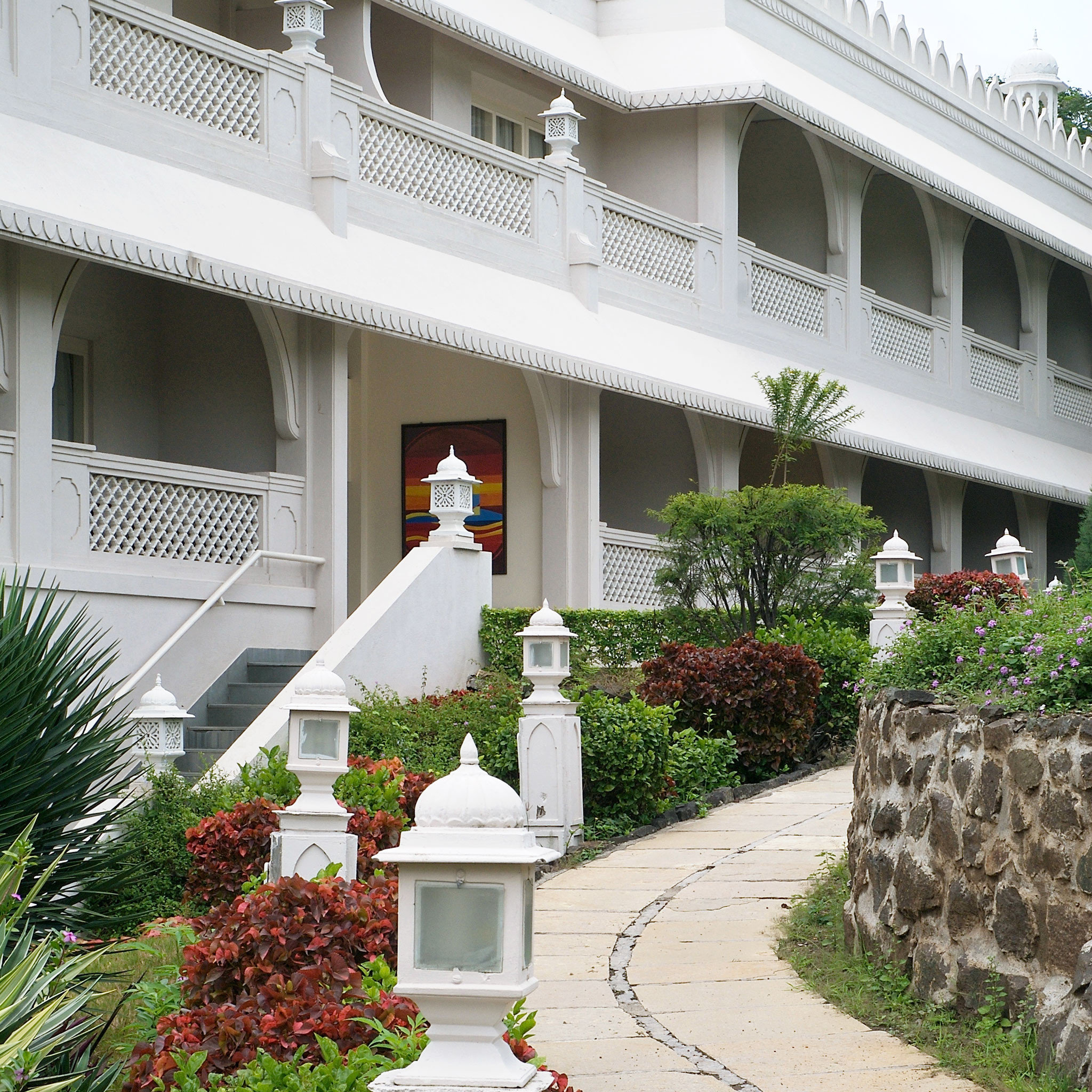 building property house home residential area Courtyard flower porch Villa outdoor structure backyard condominium cottage yard mansion Garden plant stone