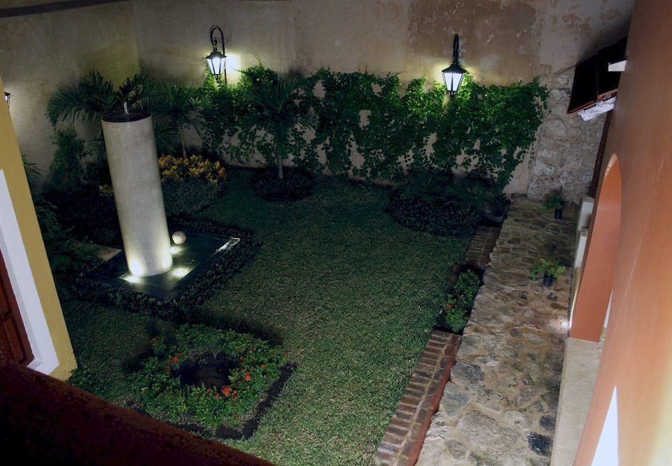 house property green backyard home yard Courtyard lighting Garden landscape lighting flower mansion Villa