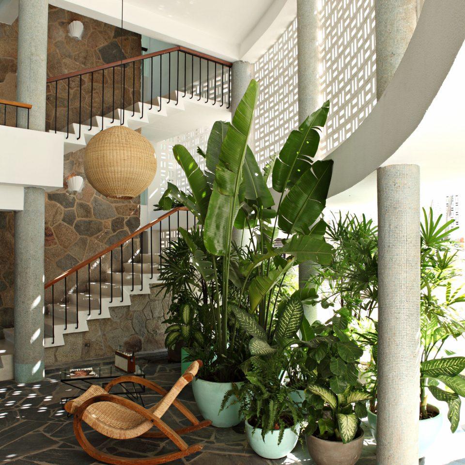 Hip Lobby Resort property home lighting Courtyard flooring