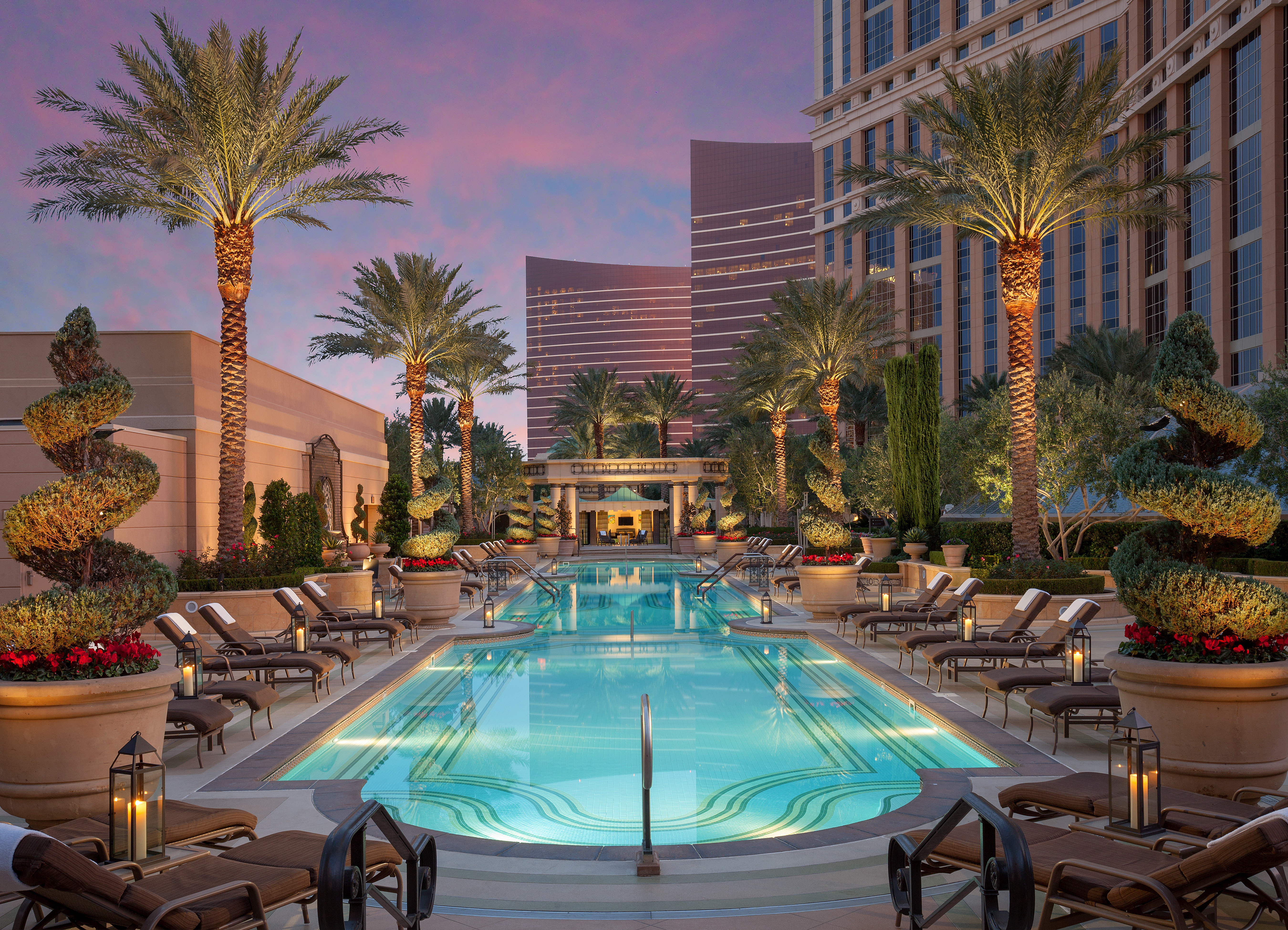 Hotels Trip Ideas tree swimming pool property leisure condominium Resort palace plaza mansion Courtyard backyard Pool palm
