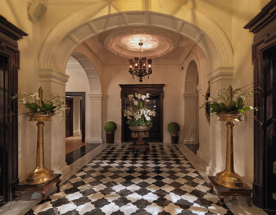 property Lobby mansion palace home chapel hall arch Courtyard flooring hacienda ballroom synagogue