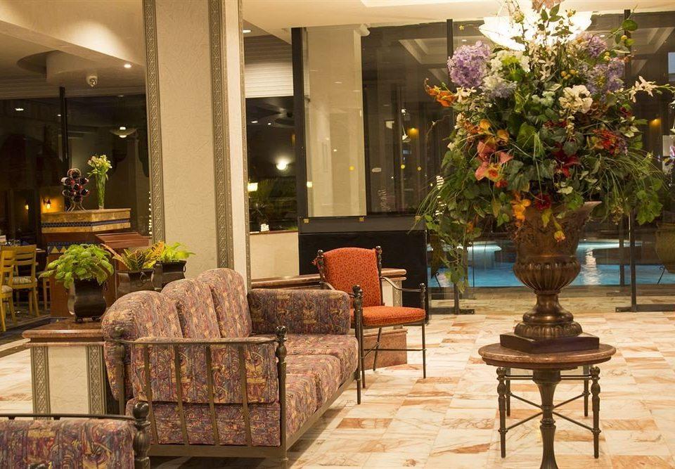 Lobby chair floristry home retail flower restaurant Courtyard living room