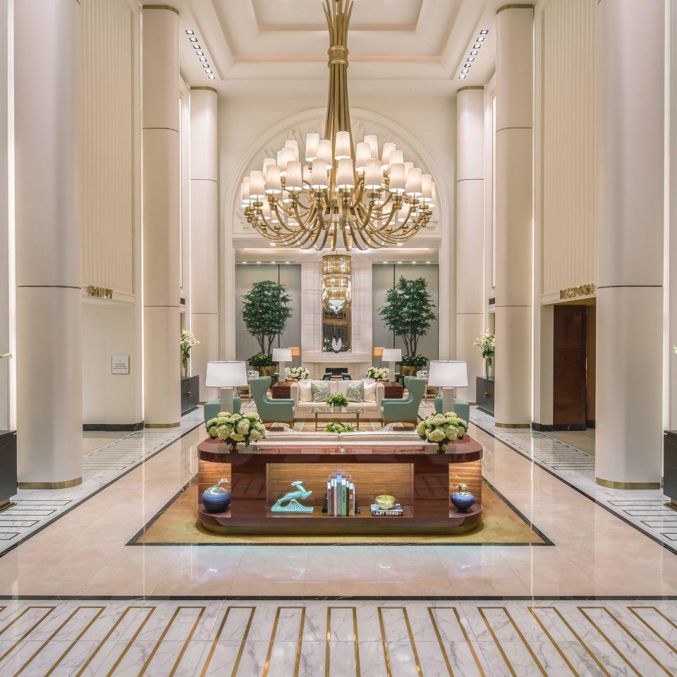 Lobby counter Courtyard