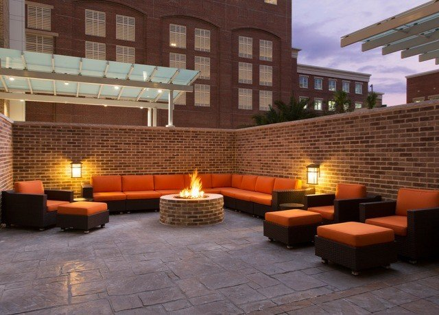 ground property Lobby plaza Courtyard screenshot outdoor structure orange stone