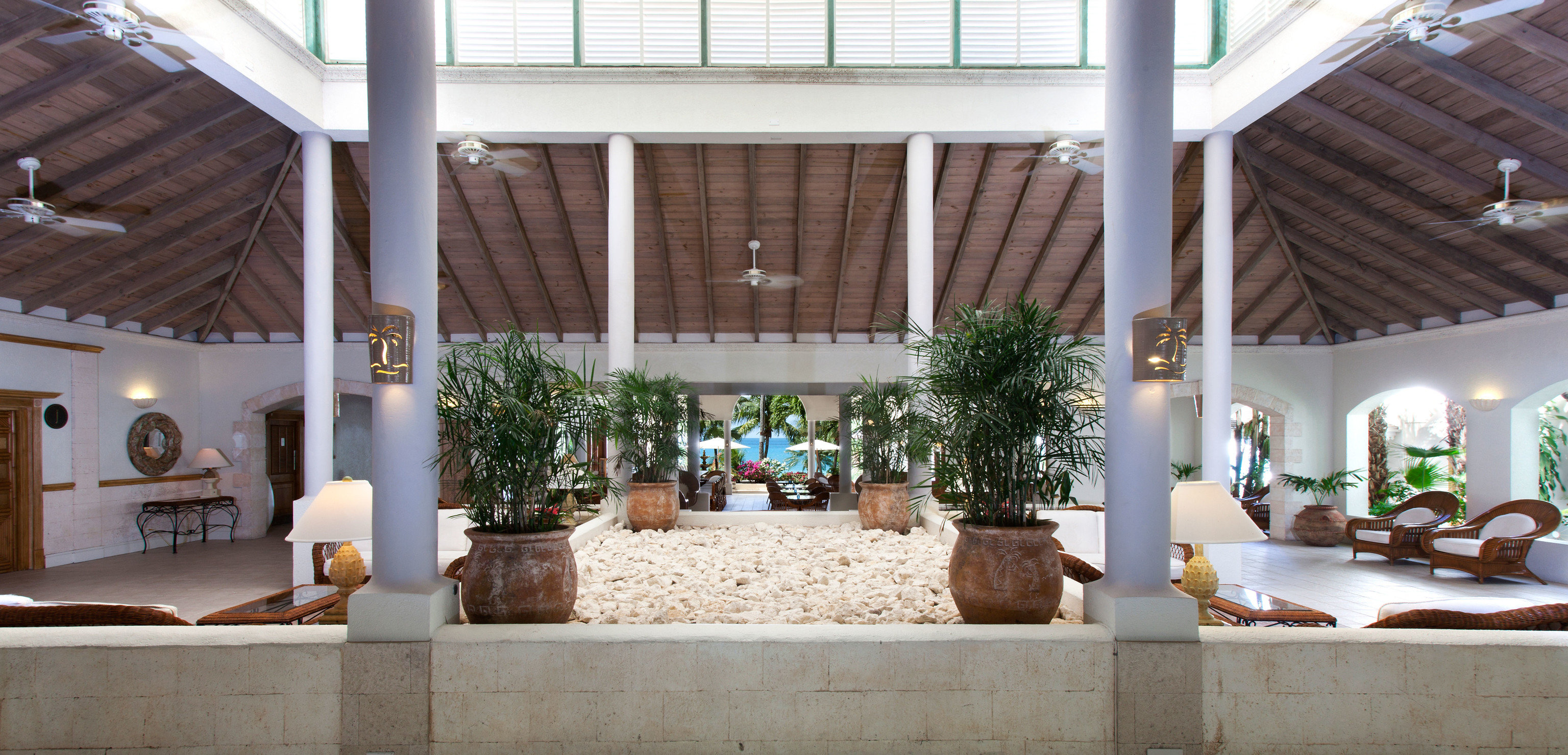 property home Lobby Courtyard hacienda