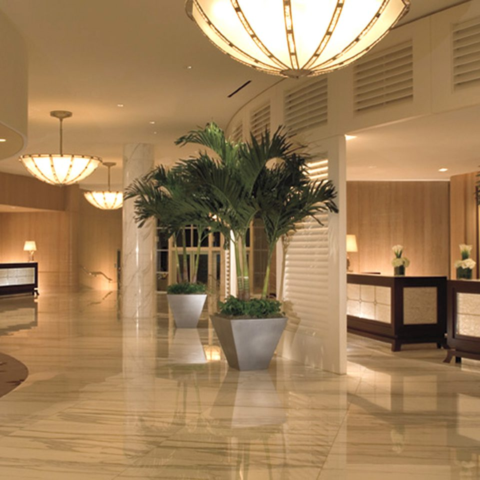 Lobby plant property home lighting condominium Courtyard Modern Resort