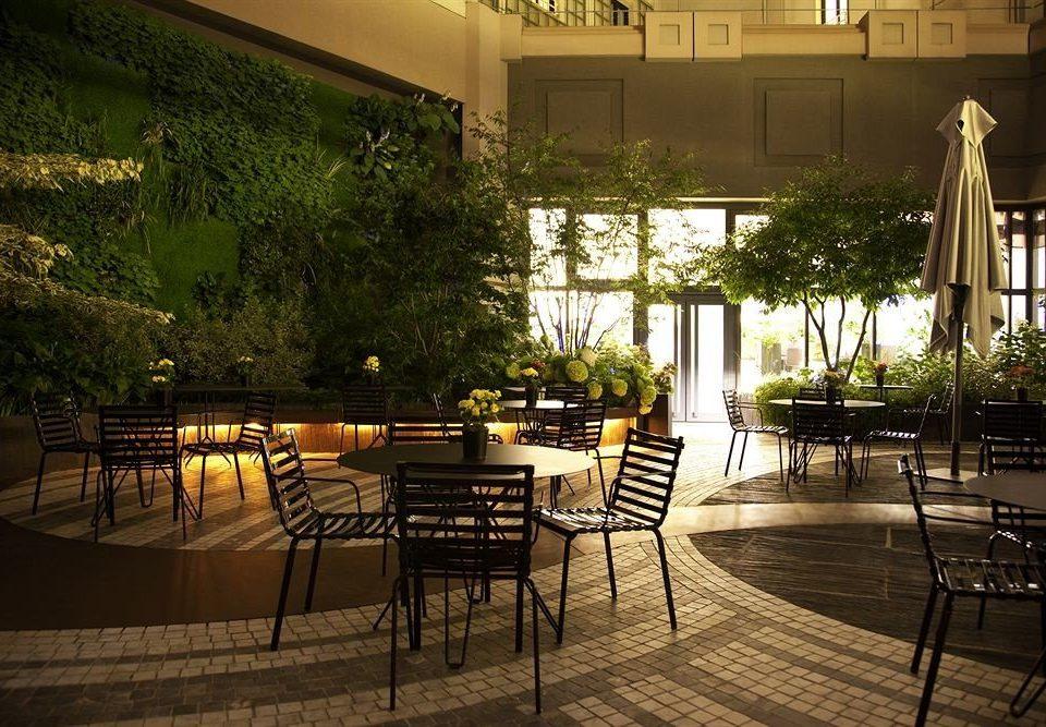 restaurant lighting Courtyard Lobby Resort backyard