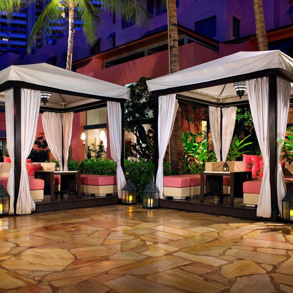 building Resort home restaurant outdoor structure Lobby Courtyard