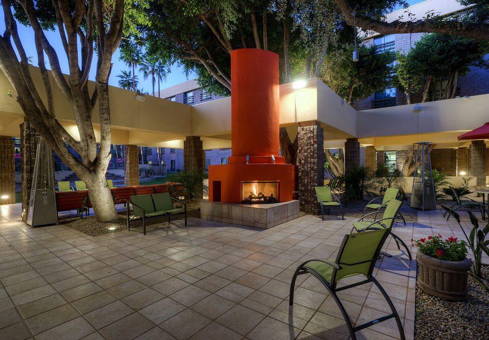 tree leisure property Resort Lobby home hacienda Villa mansion Courtyard