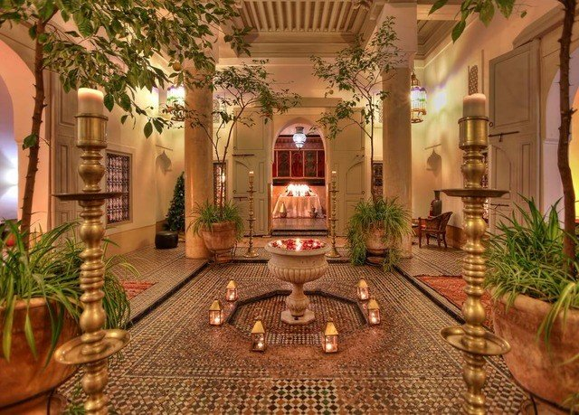 Lobby mansion Resort Courtyard hacienda home screenshot landscape lighting living room Villa set