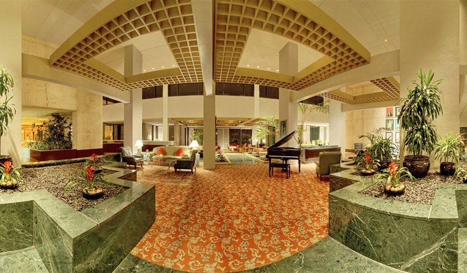 Lobby property mansion palace Courtyard hacienda home function hall Villa ballroom aisle living room flooring stone
