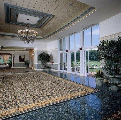 property building Lobby condominium home mansion swimming pool Courtyard flooring daylighting Villa