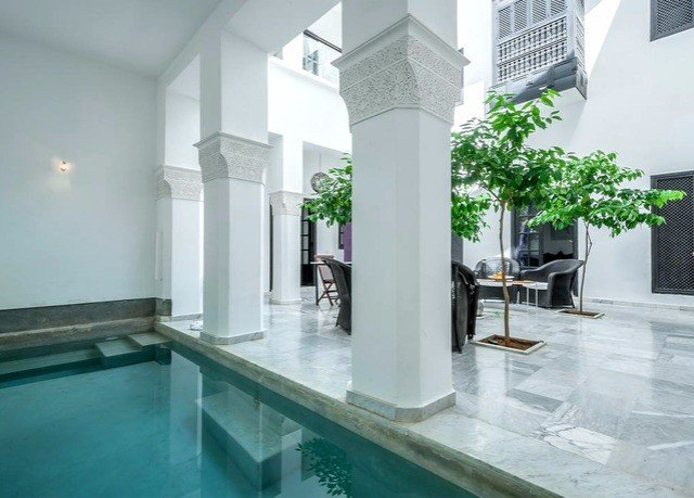 property building swimming pool condominium mansion Villa Lobby Courtyard flooring
