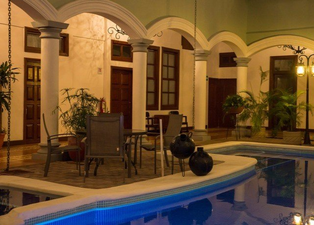 Lobby property building mansion home lighting Courtyard Villa palace