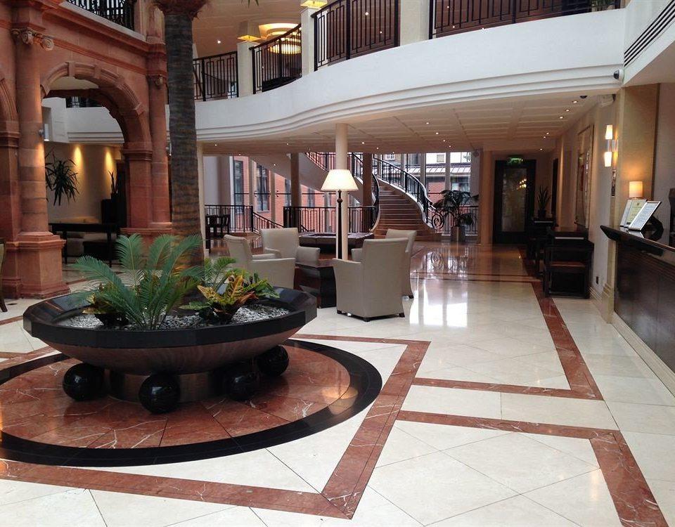 Lobby building property home living room hardwood condominium mansion flooring wood flooring Courtyard Villa