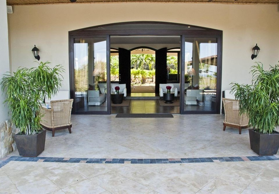 property building Villa Lobby Courtyard hacienda home condominium living room mansion stone
