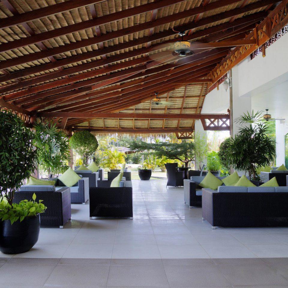 plant building property Courtyard Lobby outdoor structure Villa hacienda