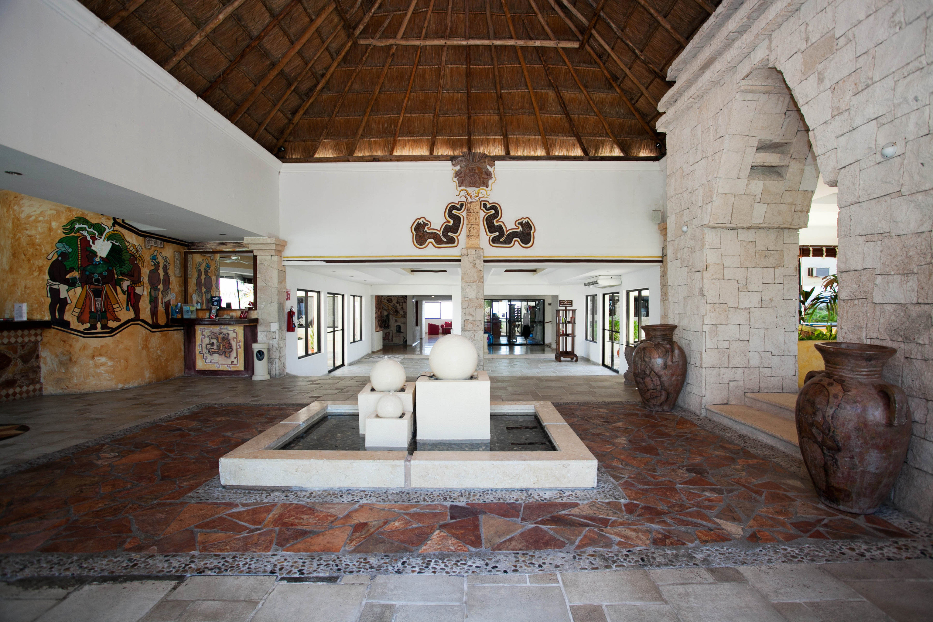 property home hacienda mansion Lobby living room Villa tourist attraction Courtyard flooring farmhouse cottage stone