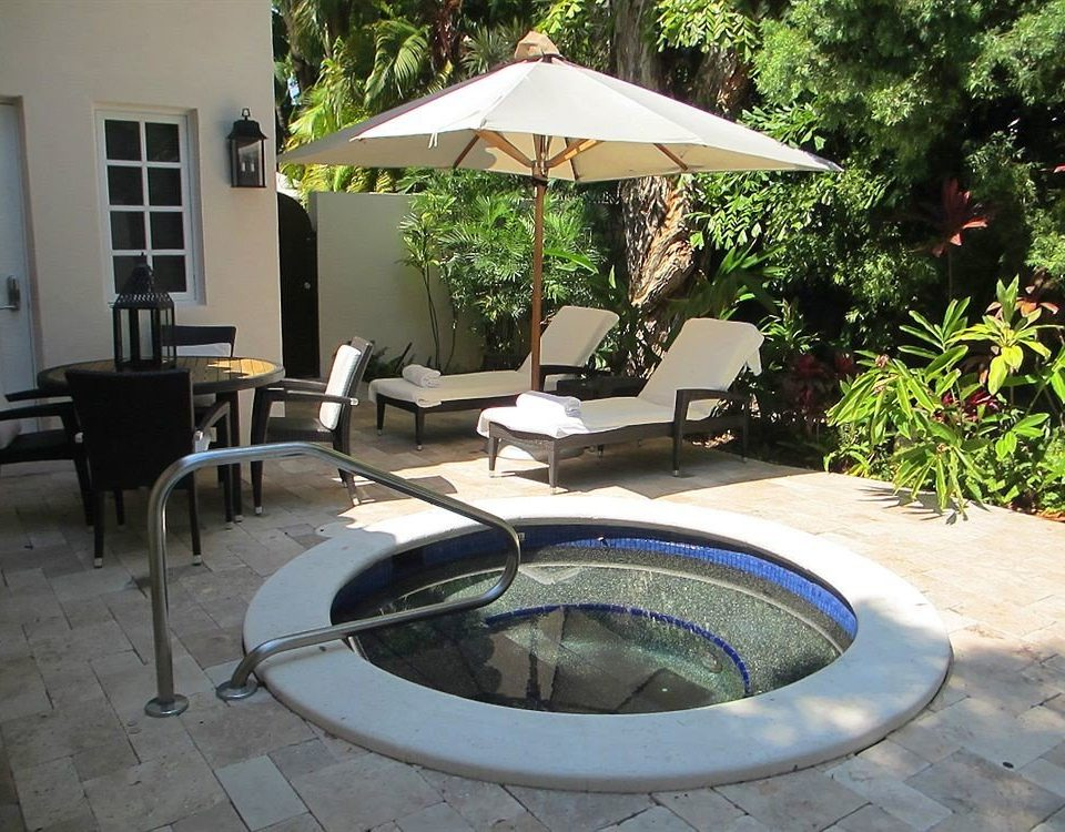 tree ground chair backyard outdoor structure Patio swimming pool Courtyard yard