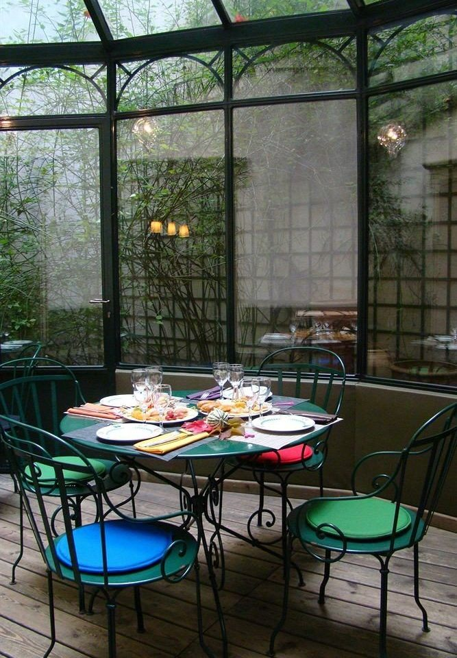 chair backyard outdoor structure green Courtyard Patio orangery yard glass